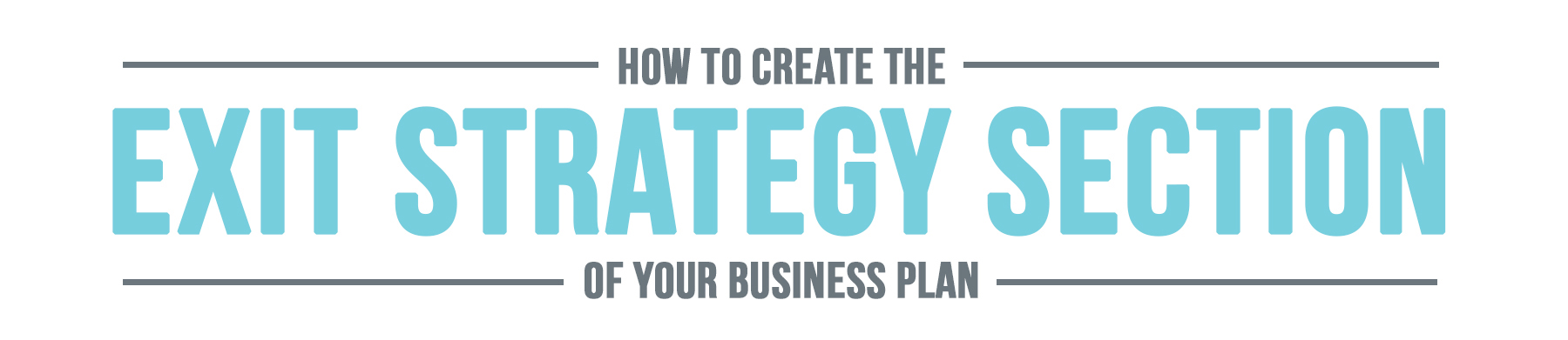 Business-Plan-Exit-Strategy-Section-Header