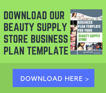 beauty supply store business plan template